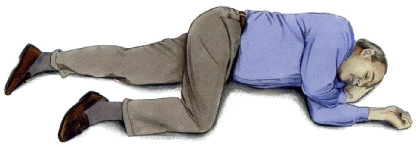 posizione laterale sicurezza